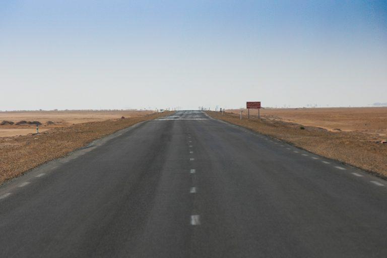 Straße Chott el Djerid