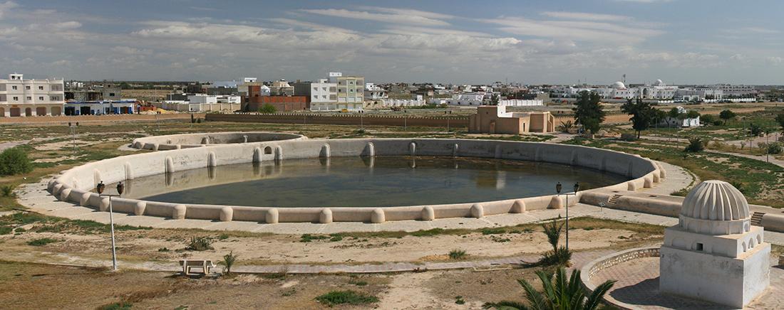 Aghlabidenbassin Kairouan