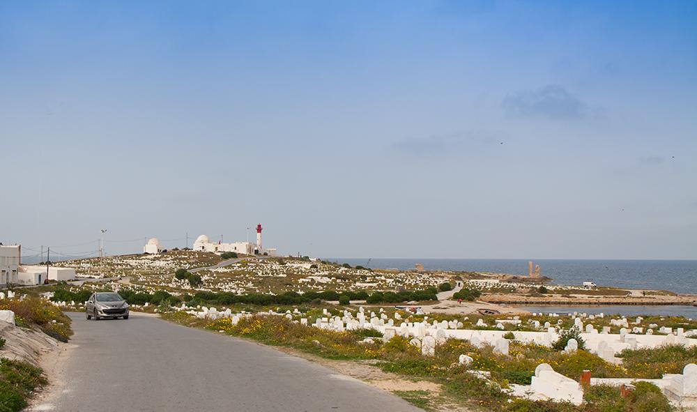 Mahdia Friedhof Leuchtturm