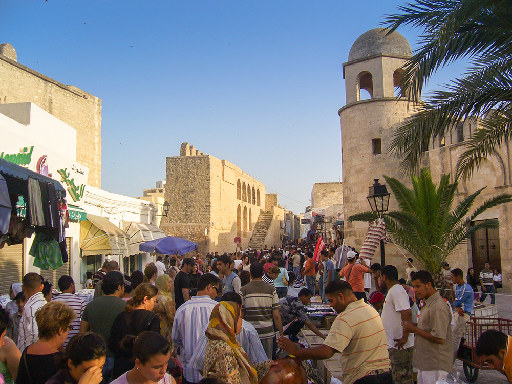 Markt in Sousse