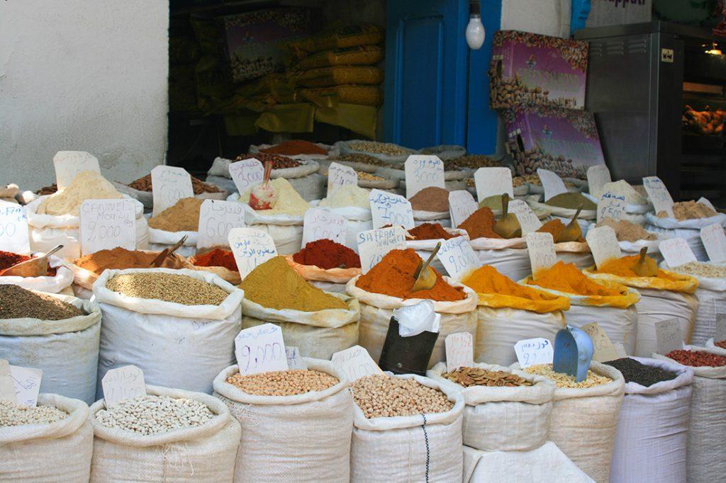 Markt Tunesien