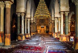 Sidi Oqba Moschee Kairouan Gebetsraum