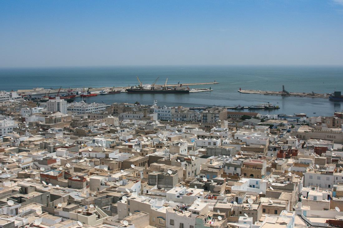Sousse  Medina und Hafen
