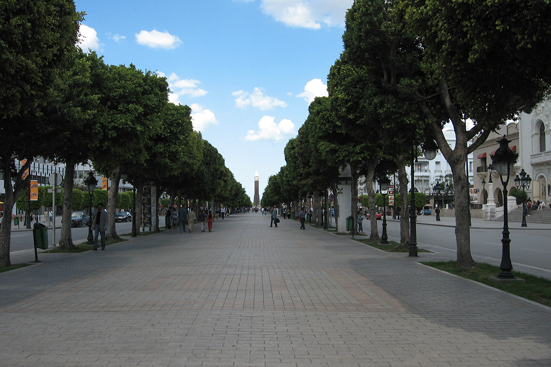 Tunis Avenue Habib Bourguiba